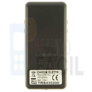 Mando garaje CARDIN S435-TX2 gris
