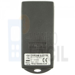 Mando garaje CARDIN S48-TX4 30.875 MHz
