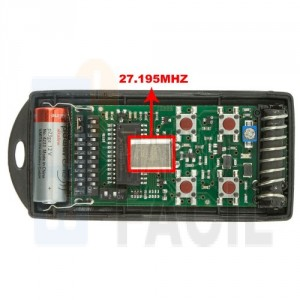 Mando garaje CARDIN S738-TX4 27.195 MHz