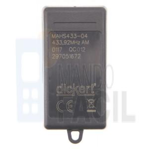 Mando garaje DICKERT MAHS433-04