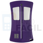 Mando garaje HR R433F2