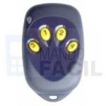 Mando garaje PROGET ETY4F - Grabación en el receptor